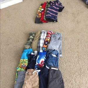 Boys Summer and Winter Clothes